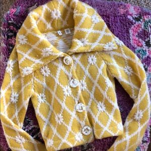 MOTH/Anthropologie Vintage Vibe Button Sweater